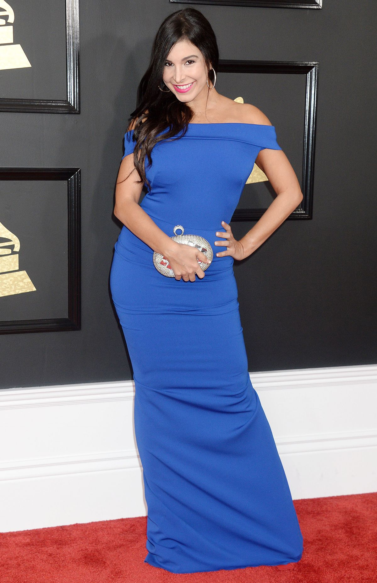 MAYRA VERONICA at 59th Annual Grammy Awards in Los Angeles 02/12/2017