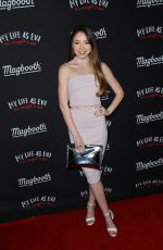 MEREDITH FOSTER at My Life As Eva Release at Sixty Hotel in Beverly Hills 02/09/2017