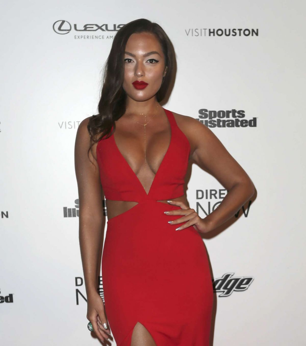 MIA KANG at Vibes by SI Swimsuit 2017 Launch Festival in Houston 02/17/2017