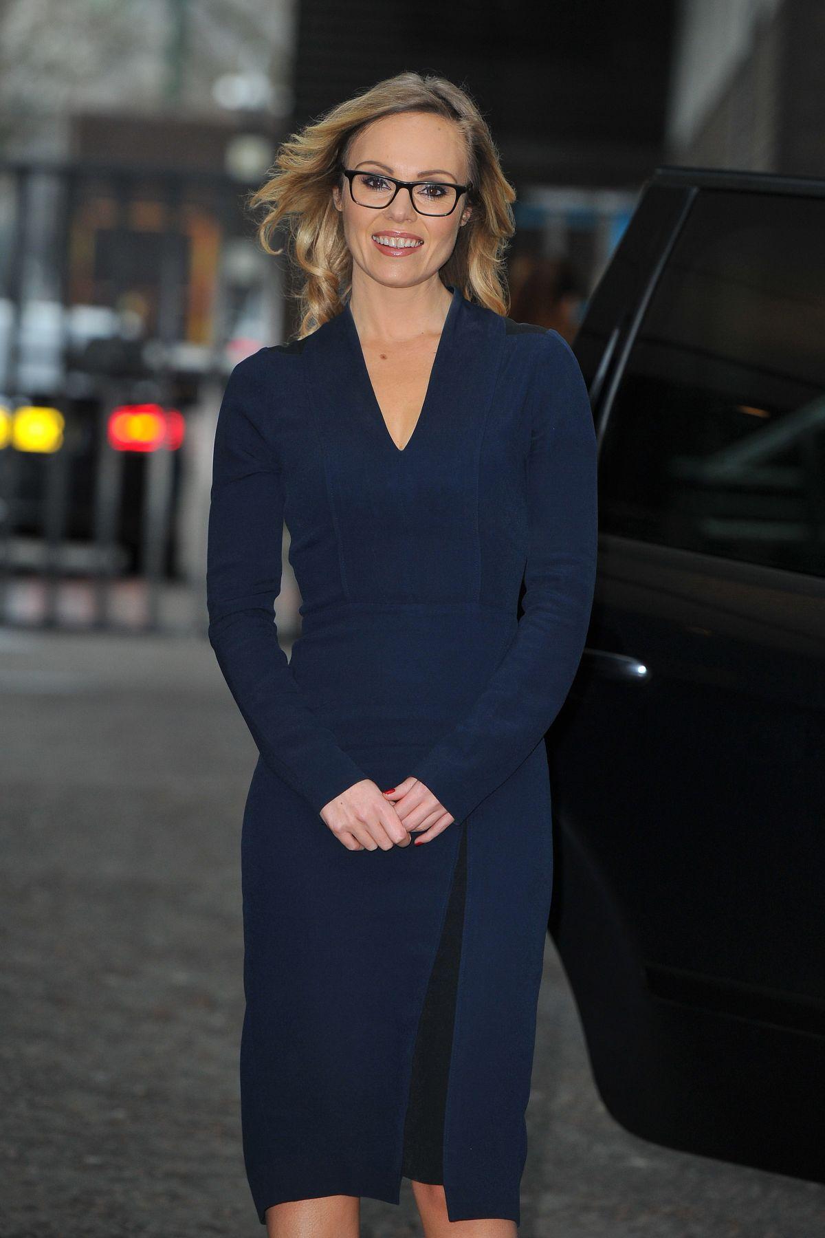 MICHELLE DEWBERRY at ITV Studios in London 02/21/2017
