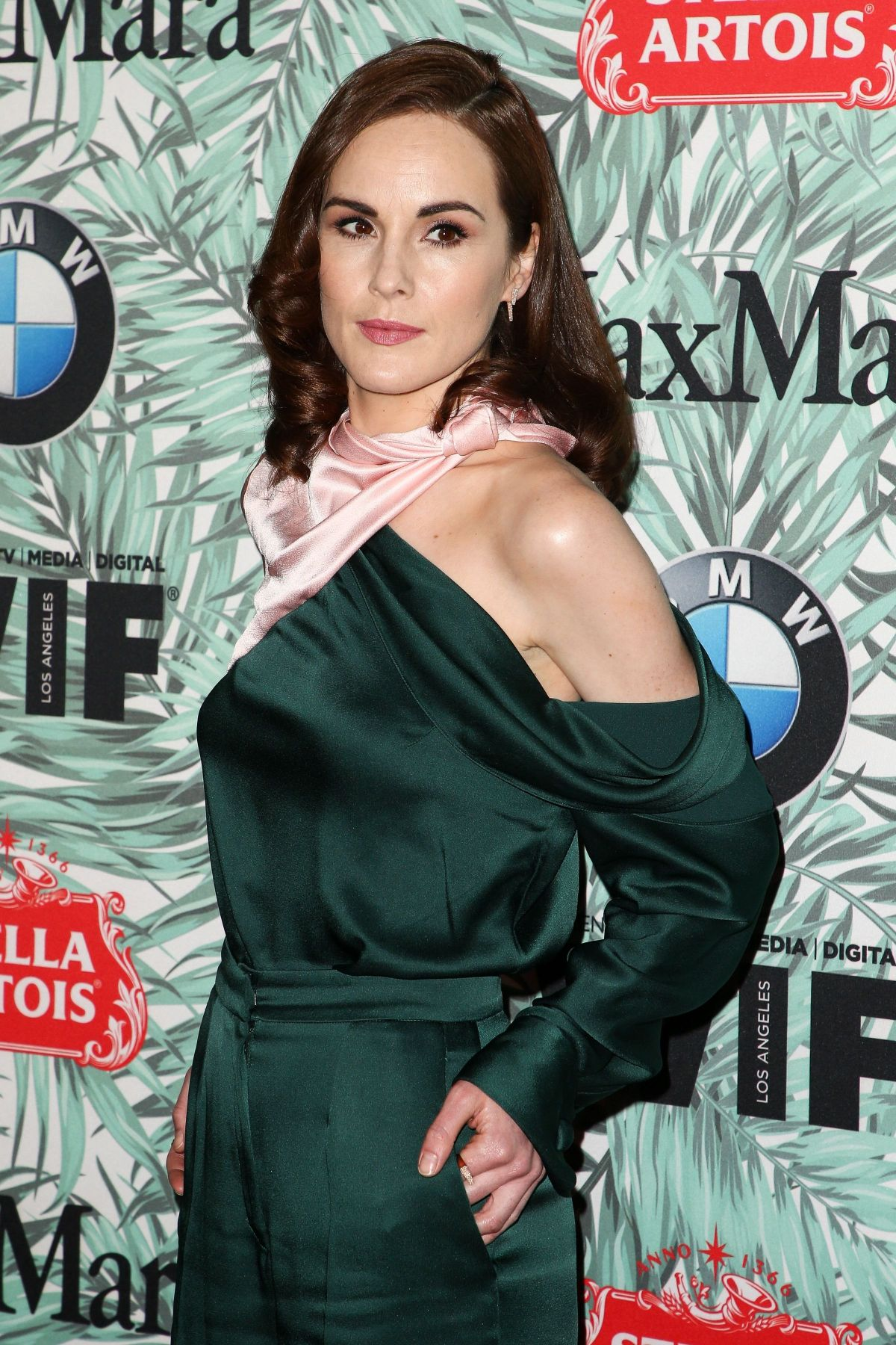 MICHELLE DOCKERY at 10th Annual Women in Film Pre-oscar Party in Los Angeles 02/24/2017