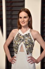 MICHELLE DOCKERY at 2017 Vanity Fair Oscar Party in Beverly Hills 02/26/2017
