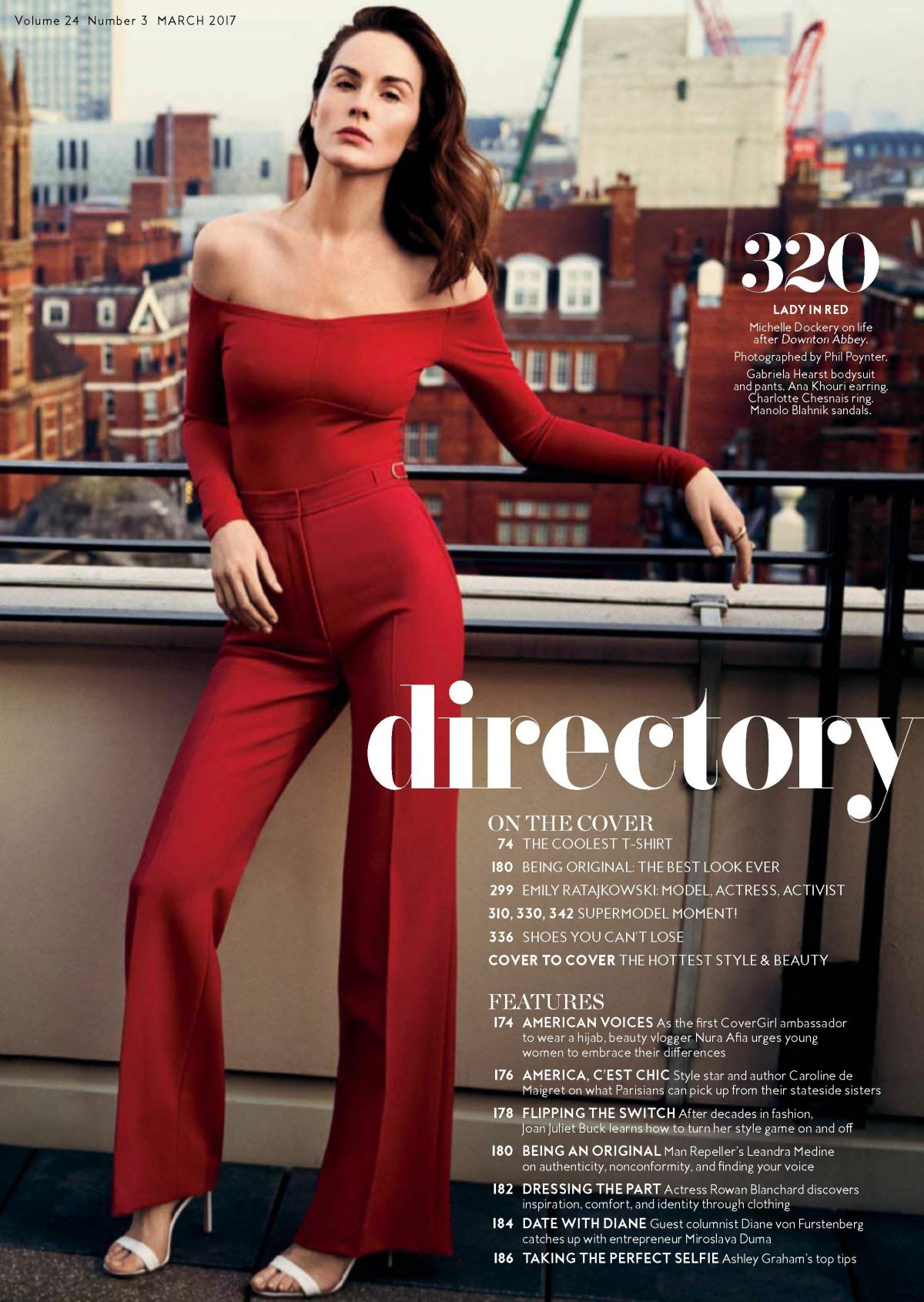 Selena Gomez Instyle >> MICHELLE DOCKERY in Instyle Magazine, March 2017 Issue - HawtCelebs