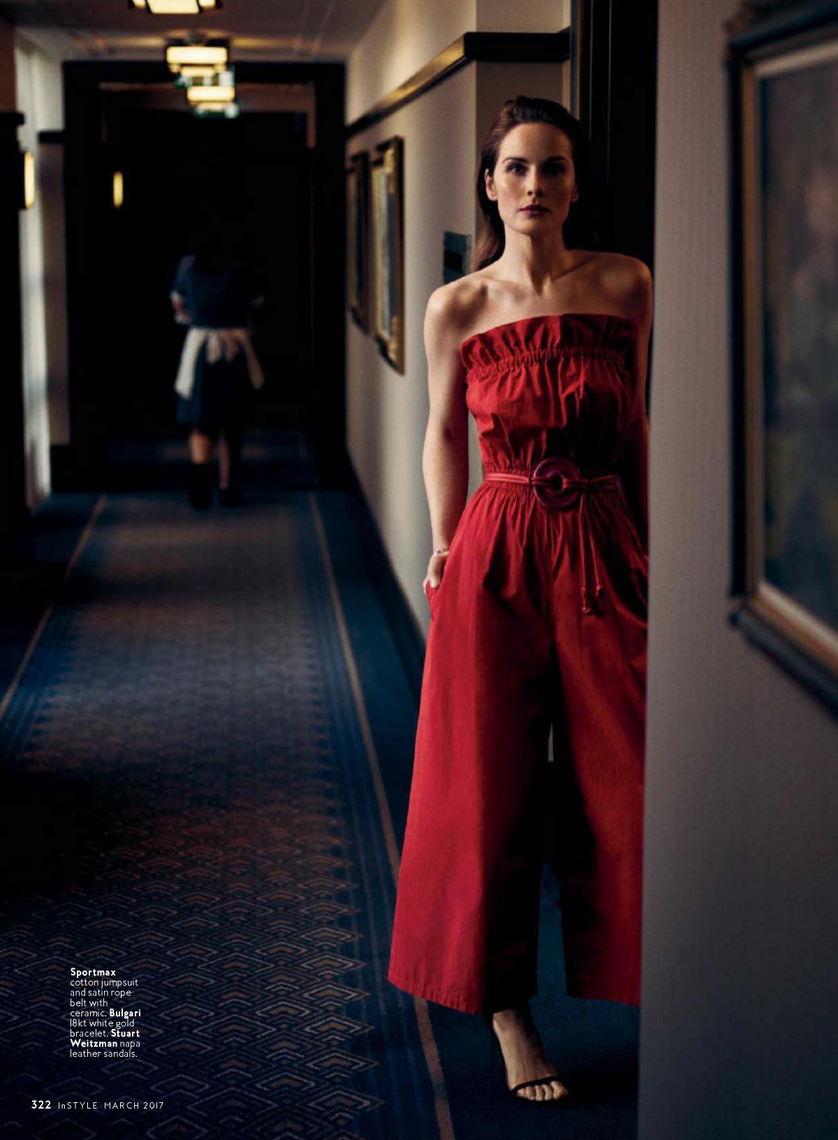 Michelle Dockery In Instyle Magazine March 2017 Issue Hawtcelebs