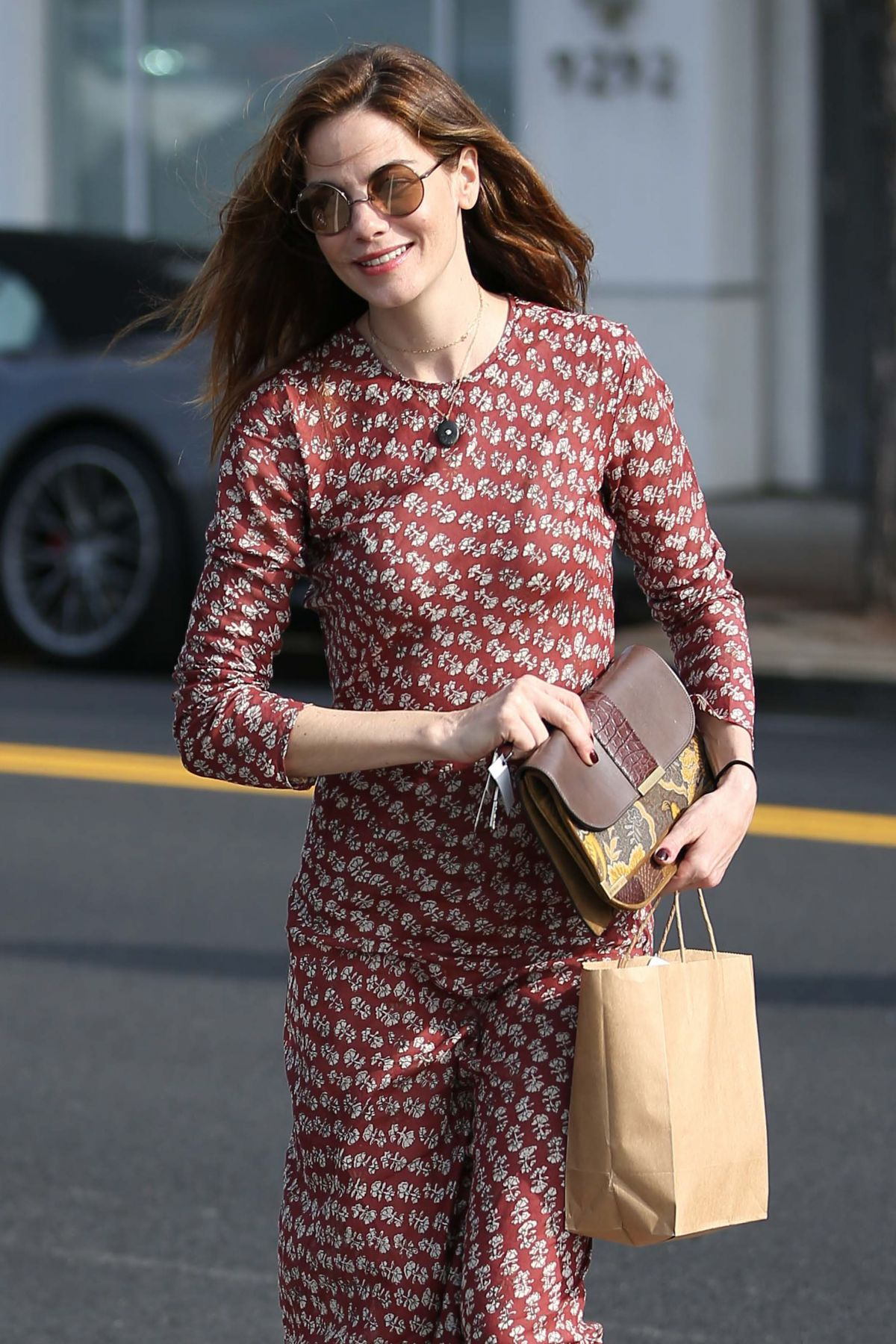 MICHELLE MONAGHAN Out Shopping in Beverly Hills 02/01/2017