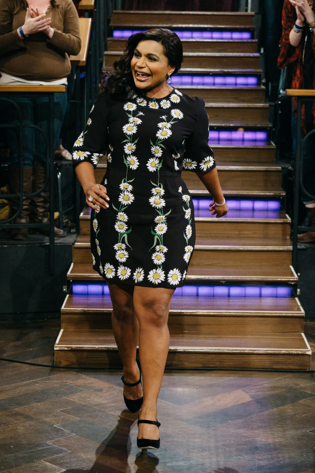 MINDY KALING at The Late Late Show with James Corden 02/02/2017