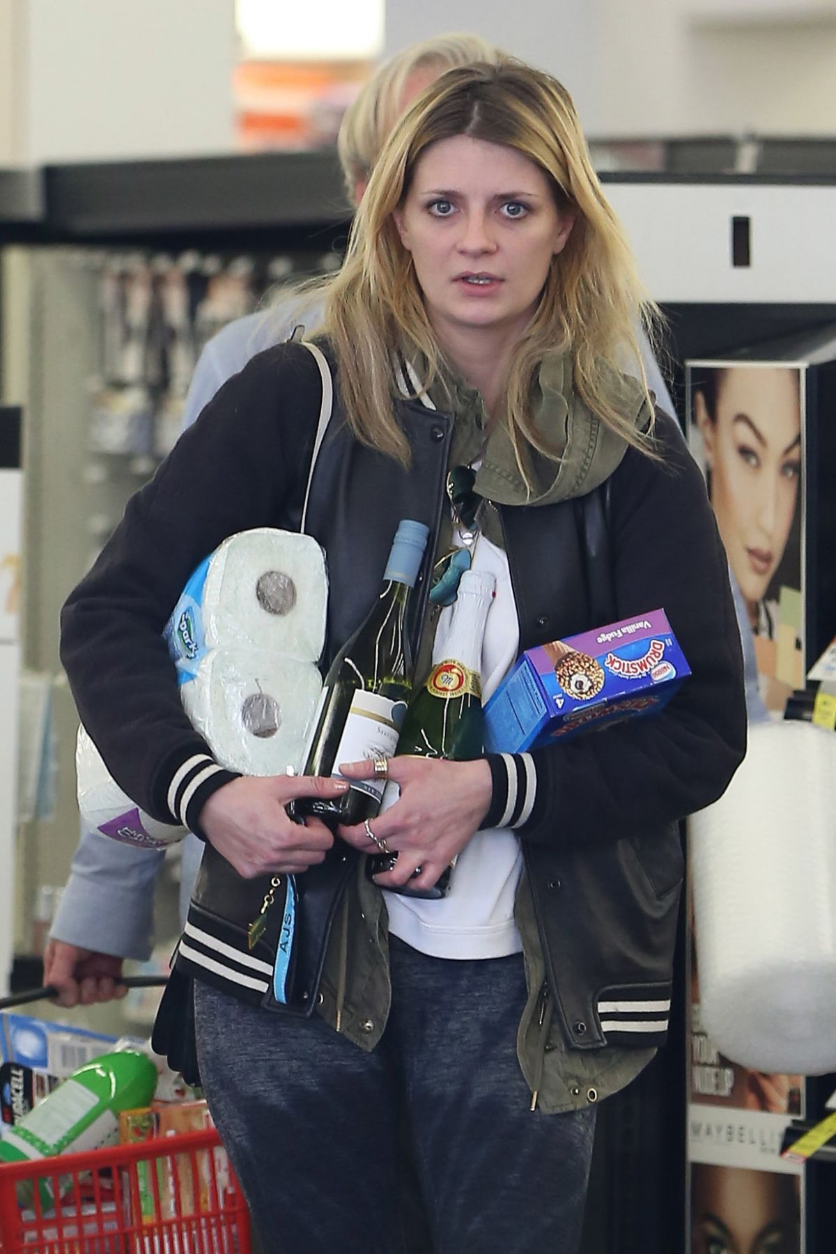 MISCHA BARTON Shopping at CVS Pharmacy in Los Angeles 02 ...