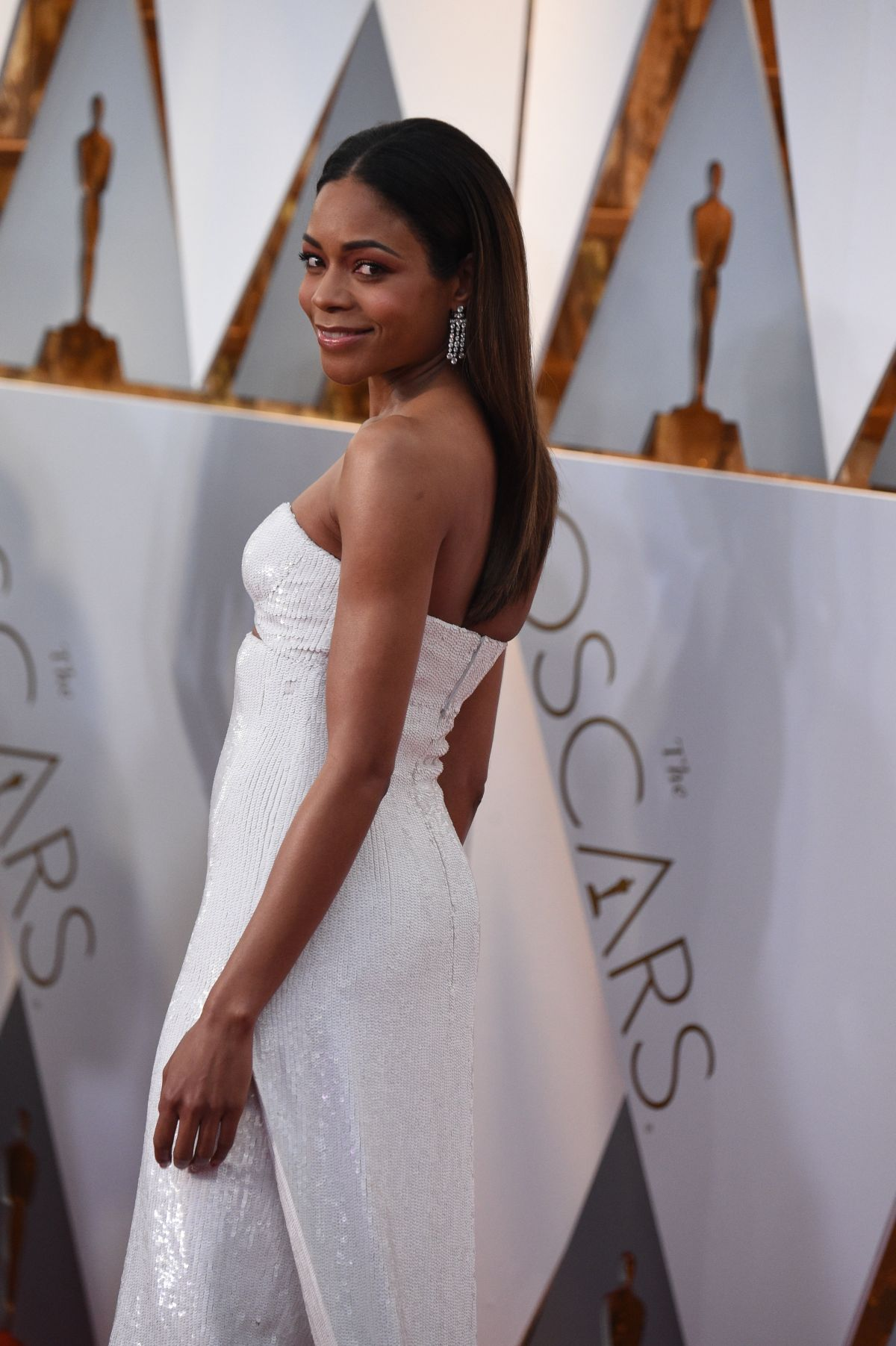 NAOMI HARRIS at 89th Annual Academy Awards in Hollywood 02/26/2017