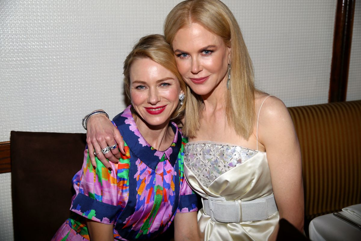 NAOMI WATTS and NICOLE KIDMAN at Charles Finch and Chanel Pre Oscar Awards Dinner in Beverly Hills 02/25/2017