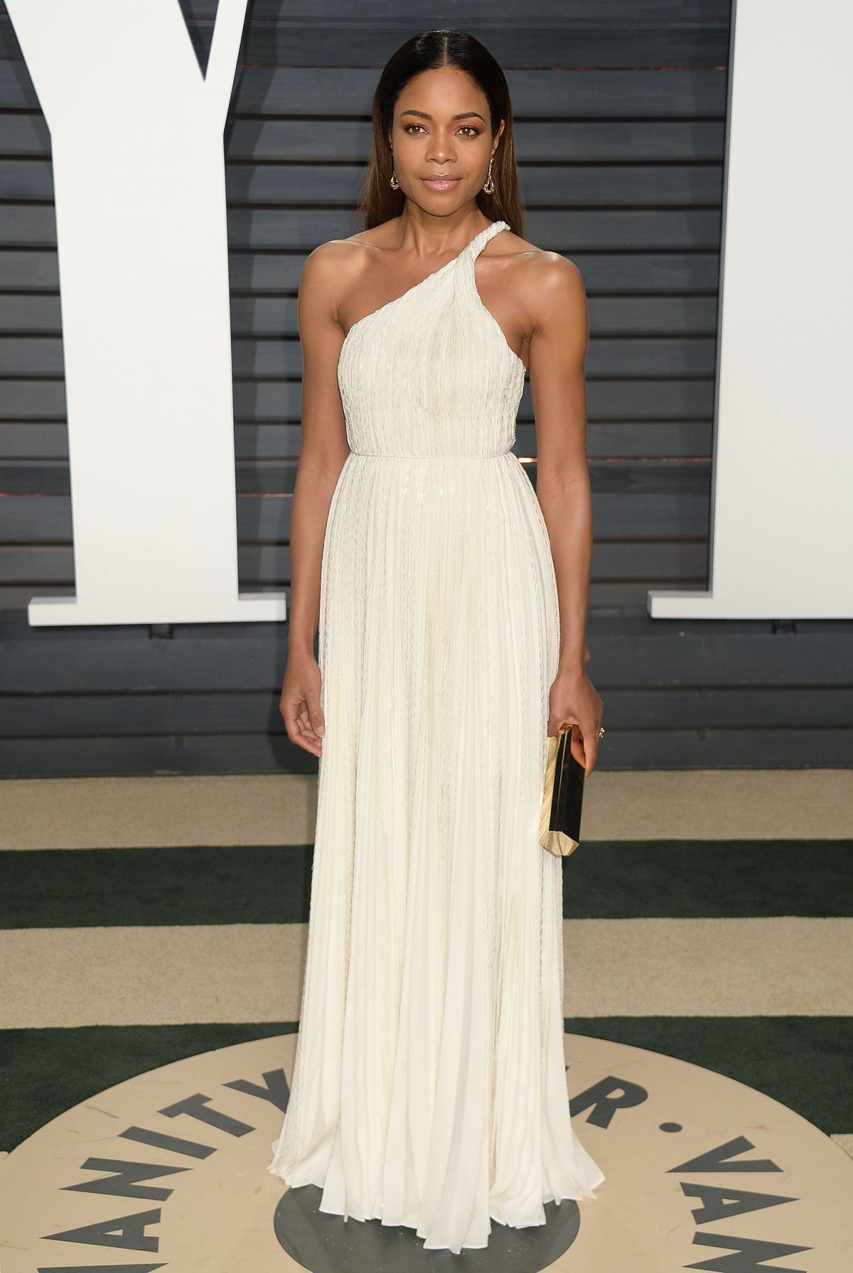 NAOMIE HARRIS at 2017 Vanity Fair Oscar Party in Beverly Hills 02/26/2017