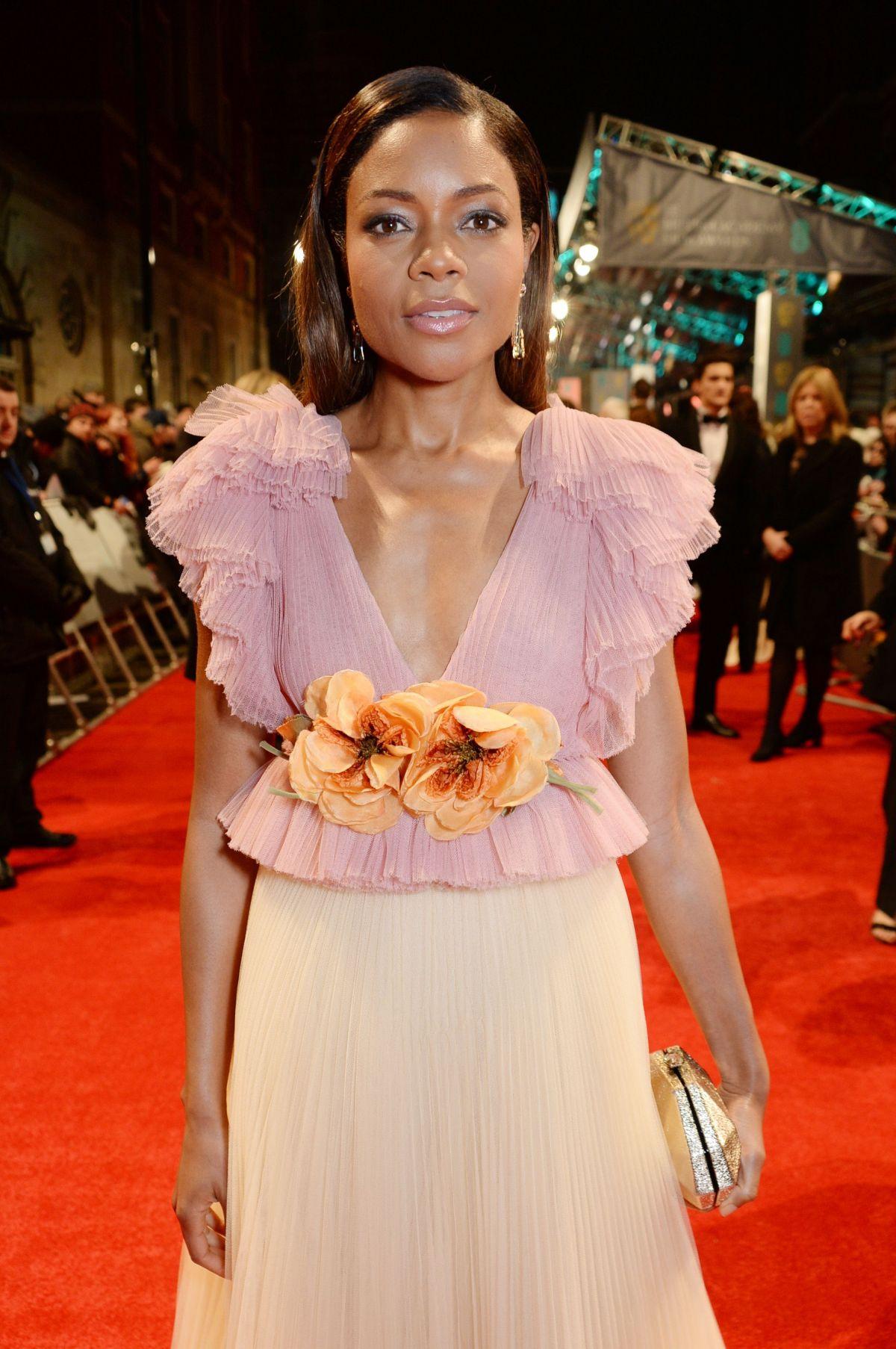 NAOMIE HARRIS at Bafta 2017 Awards in London 02/12/2017