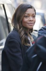 NAOMIE HARRIS Out and About in London 02/13/2017