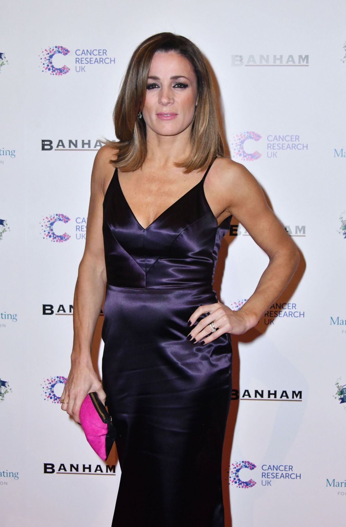 NATALIE PINKHAM at Emeralds and Ivy Ball in London 02/25/2017