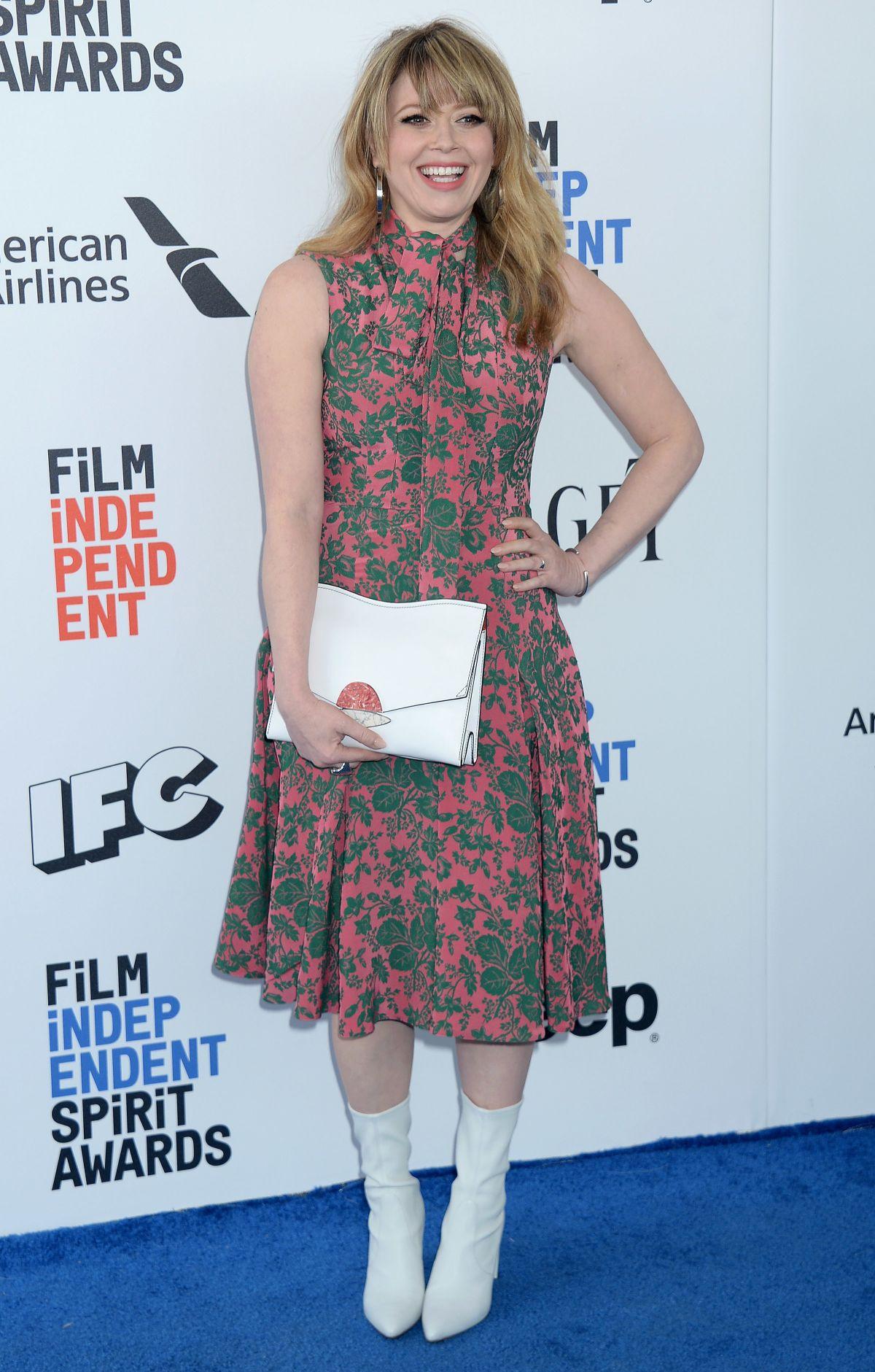 NATASHA LYONE at 2017 Film Independent Spirit Awards in Santa Monica 02/25/2017