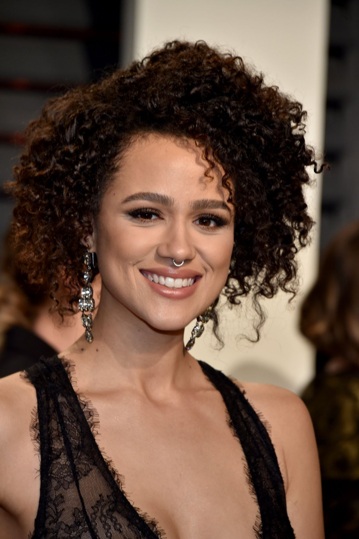 nathalie emmanuel at 2017 vanity fair oscar party in beverly hills