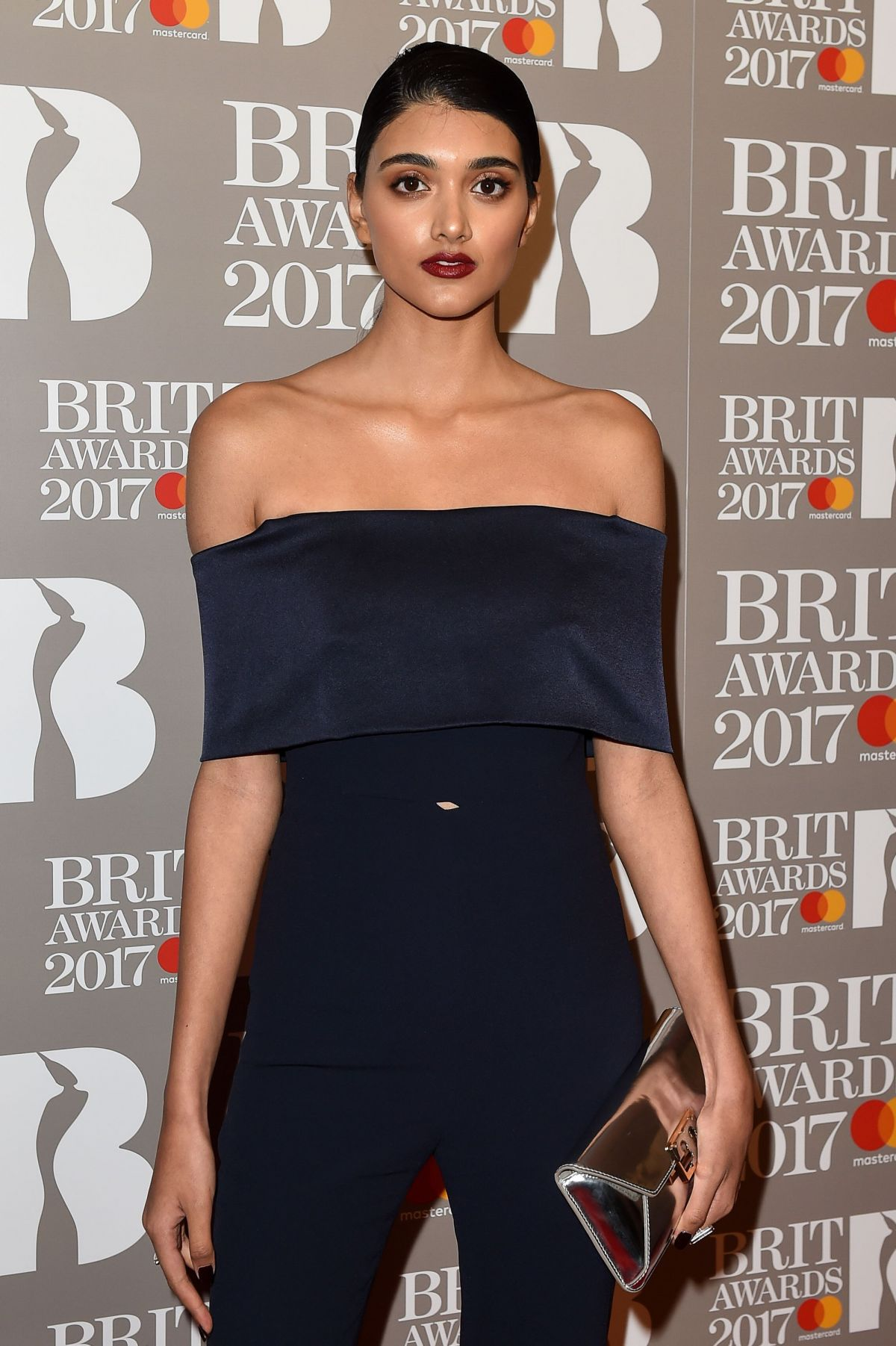 NEELAM GILL at Brit Awards 2017 in London 02/22/2017