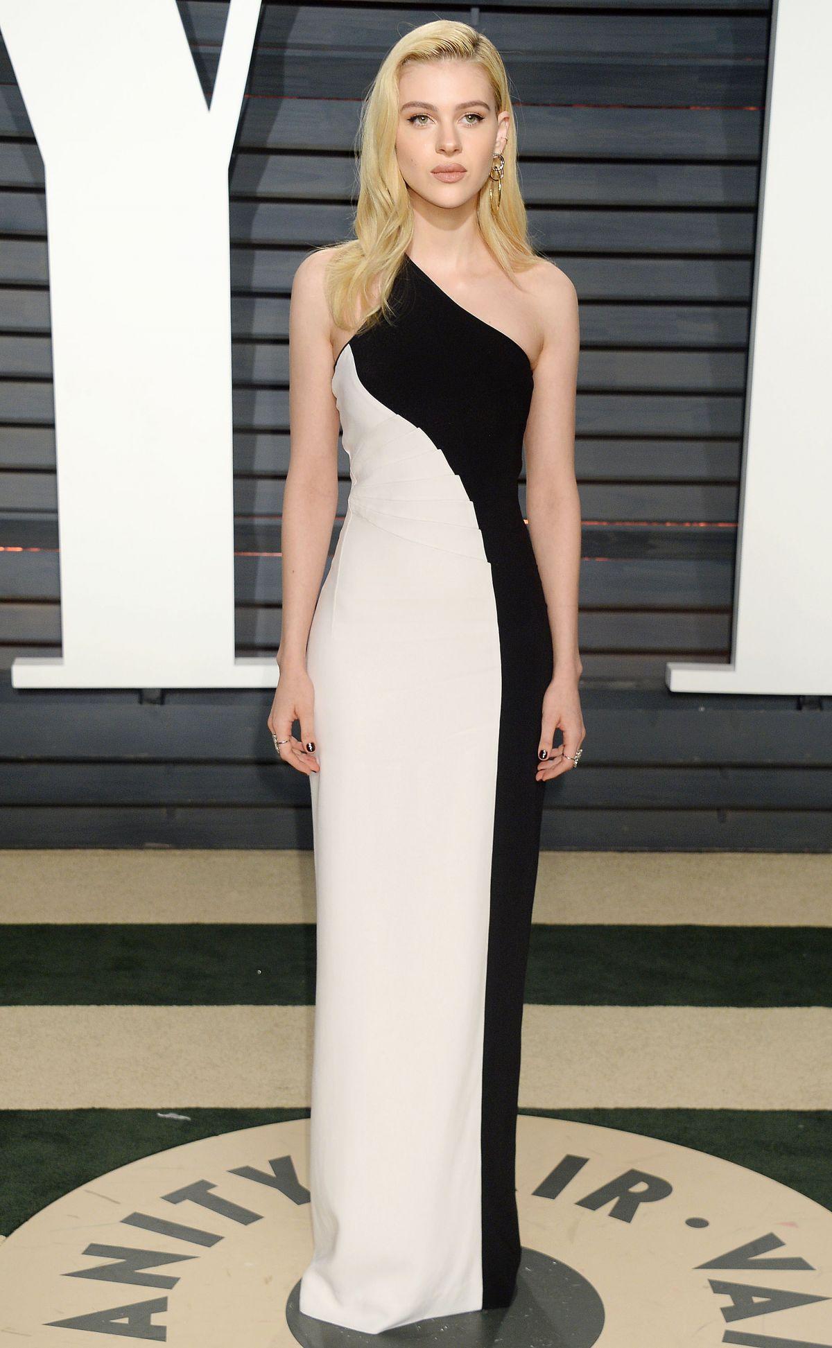 NICOLA PELTZ at 2017 Vanity Fair Oscar Party in Beverly ...