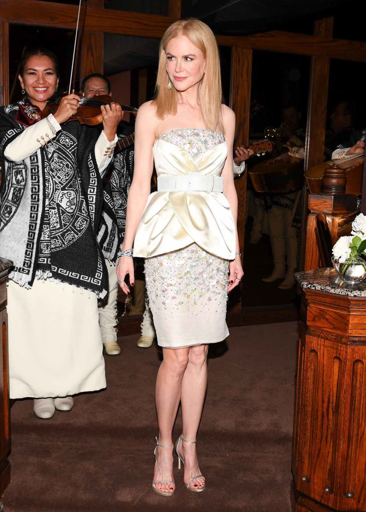 NICOLE KIDMAN at Charles Finch and Chanel Pre Oscar Awards Dinner in Beverly Hills 02/25/2017