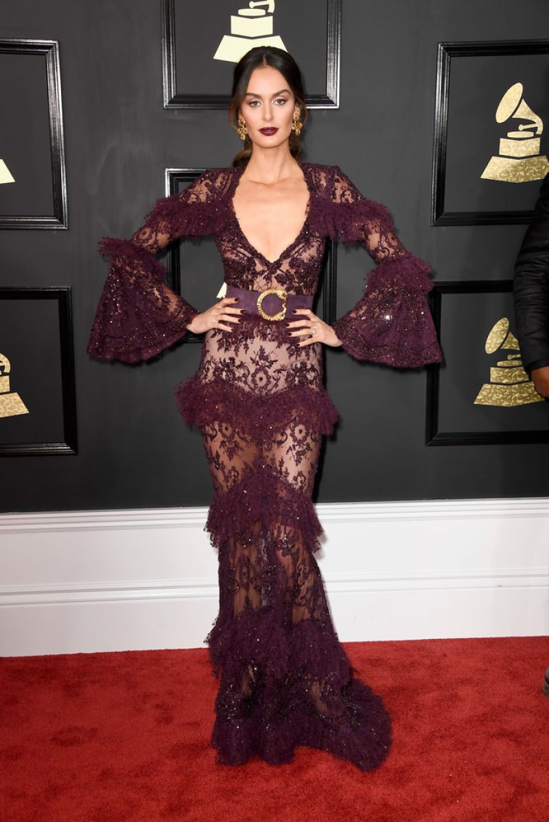 NICOLE TRUNFIO at 59th Annual Grammy Awards in Los Angeles 02/12/2017