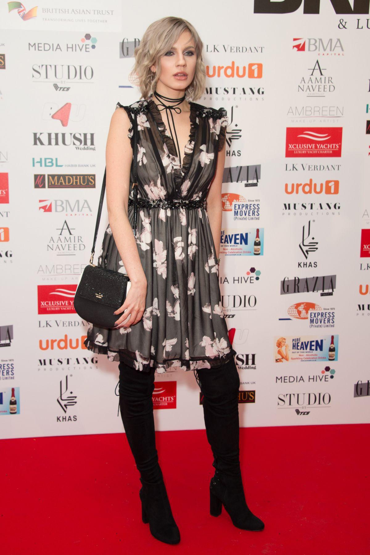 NIKITA ANDRIANOVA at Fashion Paradeat One Marylebone in London 02/06/2017