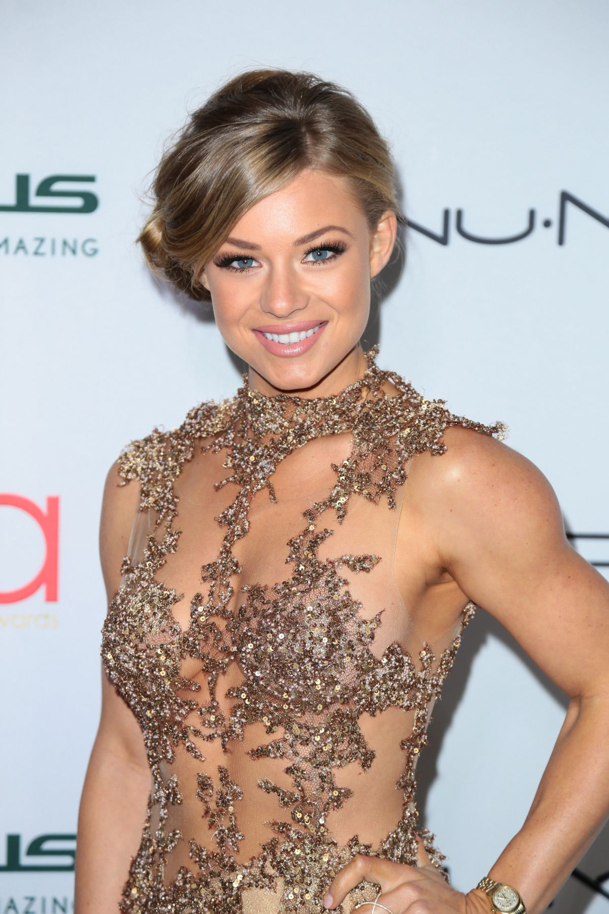 NIKKI LEIGH at 3rd Annual Hollywood Beauty Awards in Los