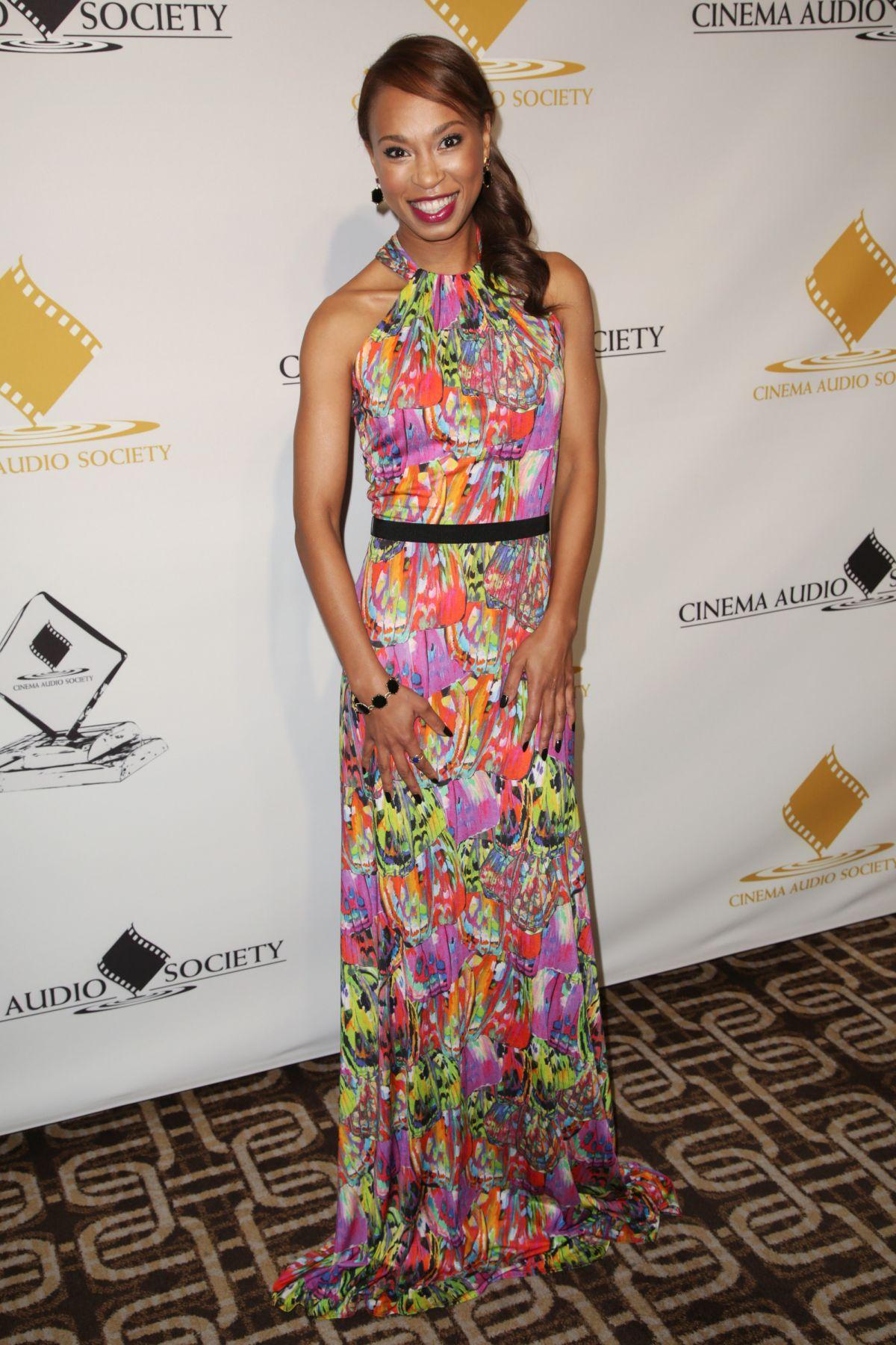 NONDUMISO TEMBE at Cinema Audio Society Awards in Los Angeles 02/19/2017