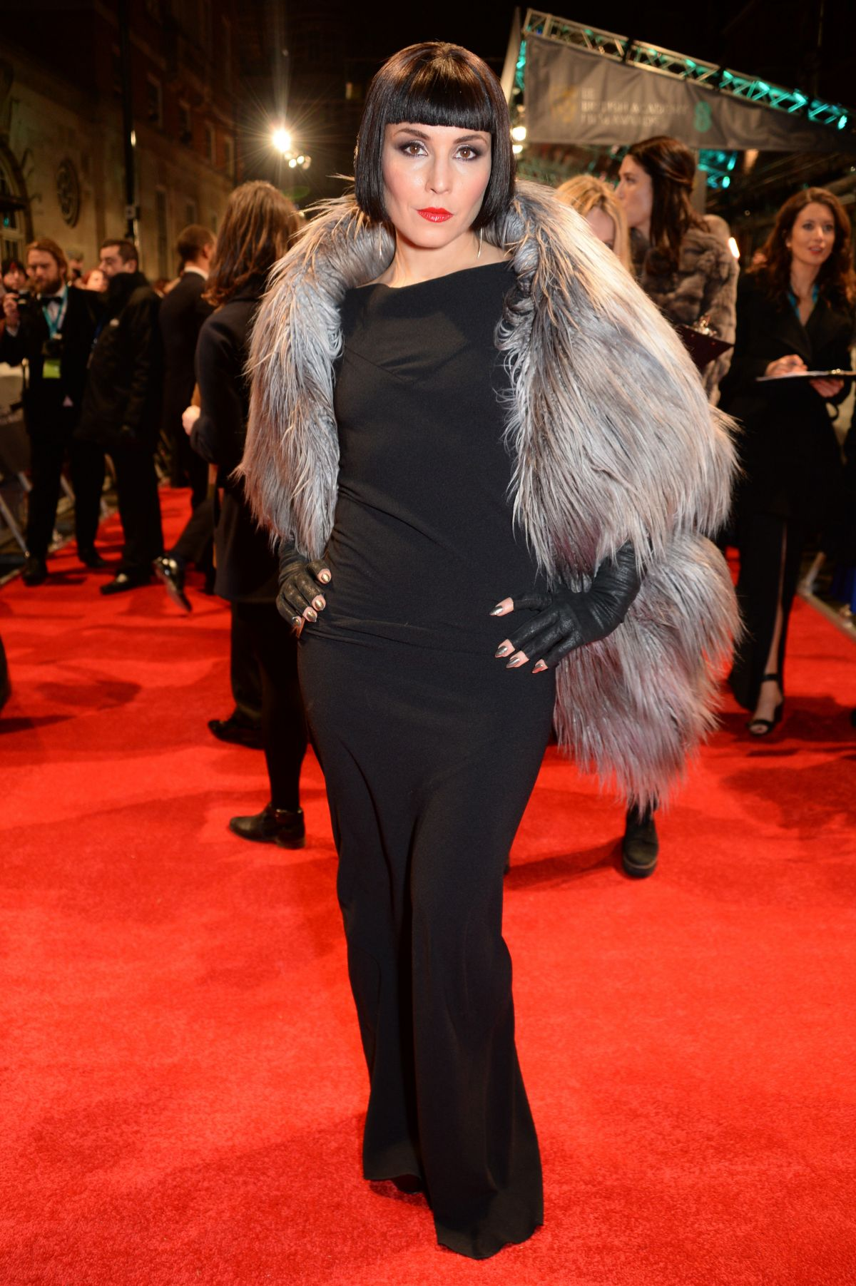 Noomi Rapace At Bafta 2017 Awards In London 02 12 2017