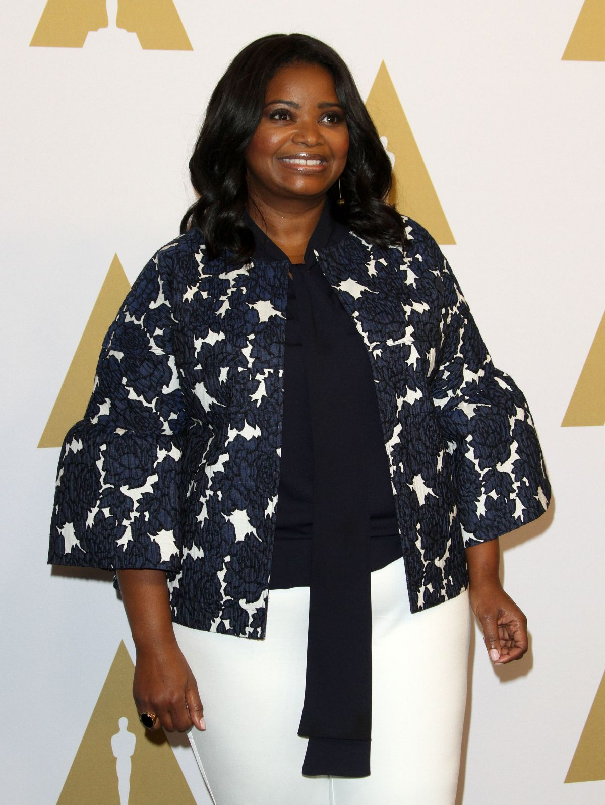 OCTAVIA SPENCER at Academy Awards Nominee Luncheon in Beverly Hills 02/06/2017
