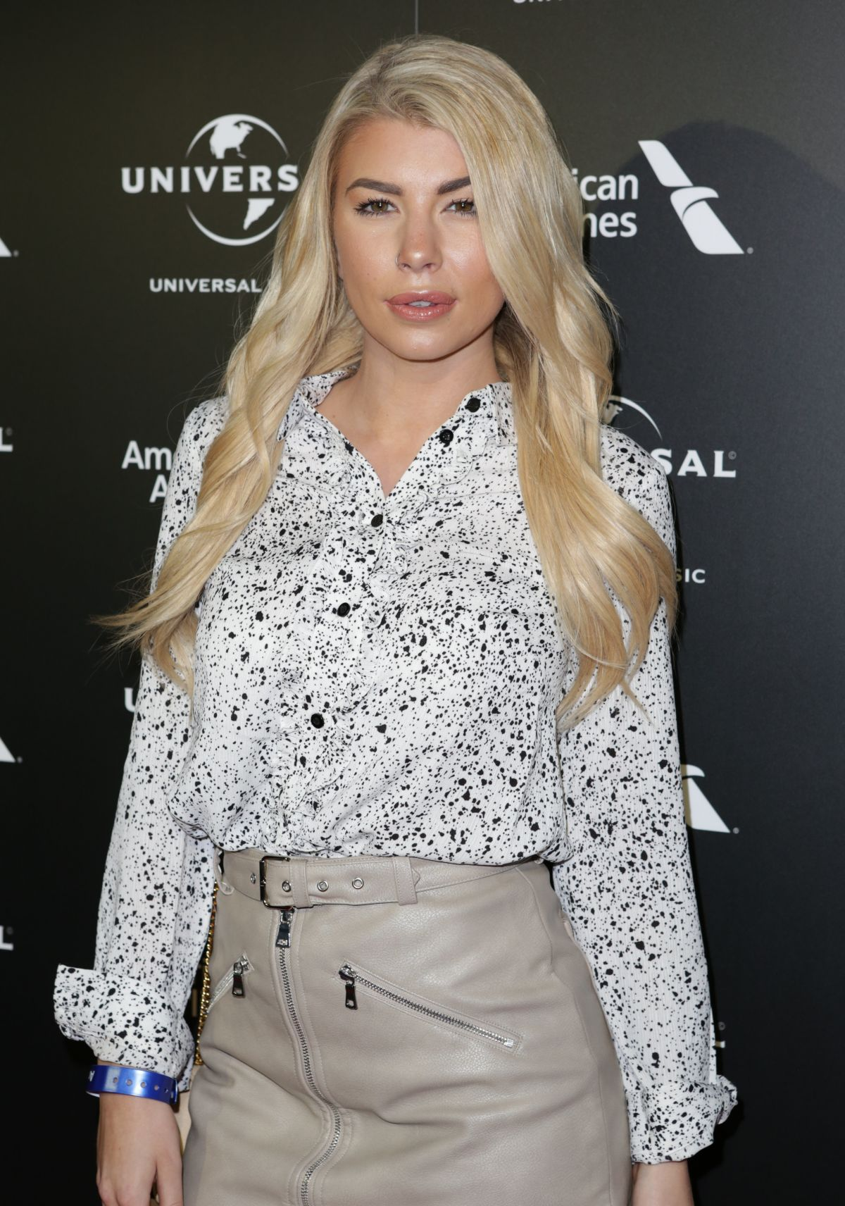 OLIVIA BUCKLAND at Universal Music Pre-brit Award Party in London 02/20/2017