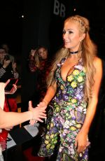 PARIS HILTON at Vivienne Tam Fashion Show in New York 02/15/2017