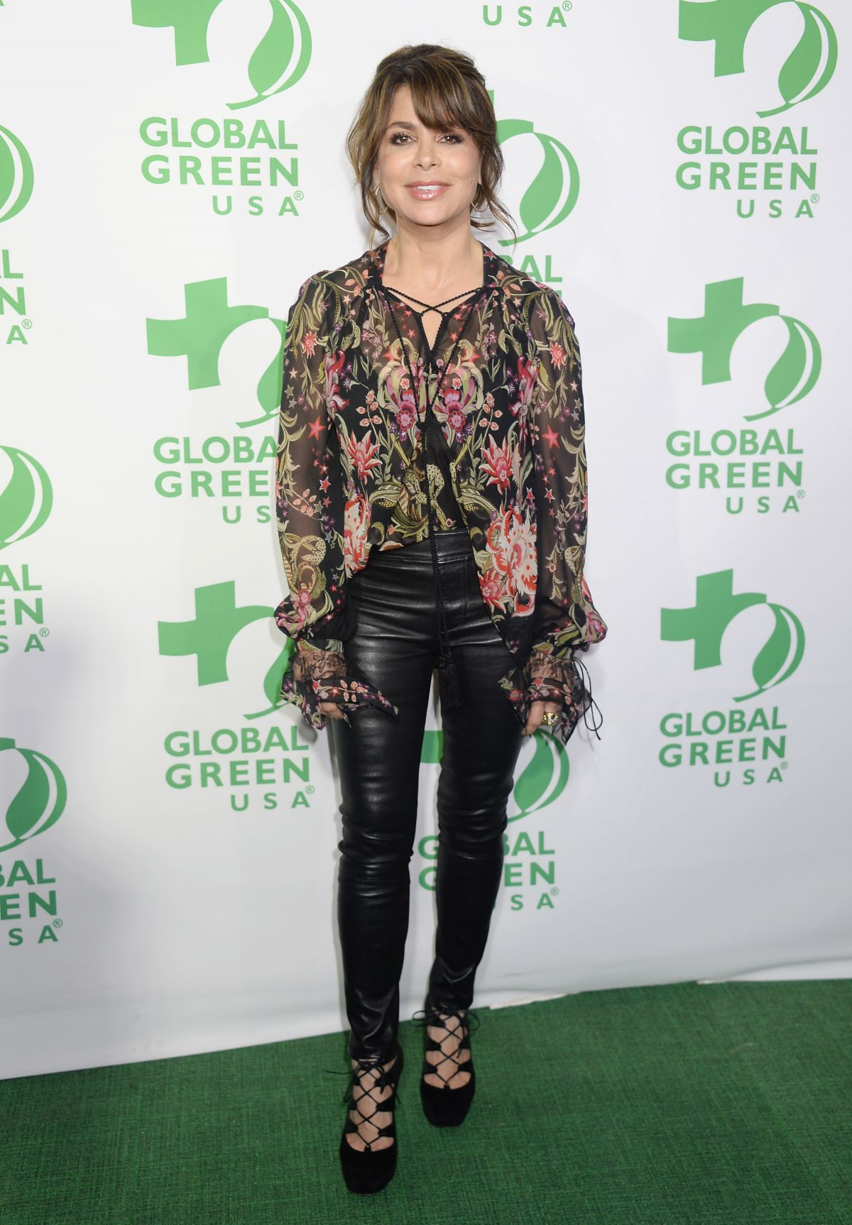 PAULA ABDUL at 14th Annual Global Green Pre Oscar Party in Los Angeles 02/22/2017