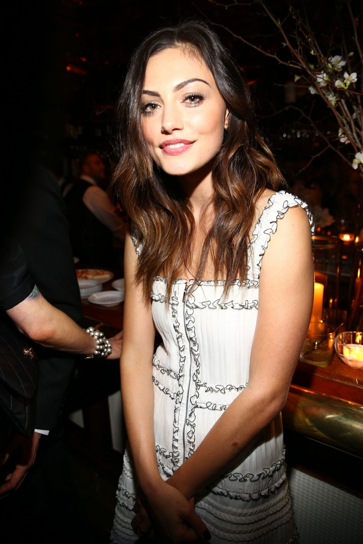 PHOEBE TONKIN at Charles Finch and Chanel Pre Oscar Awards Dinner in Beverly Hills 02/25/2017