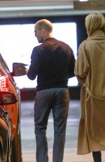 Pregnant ROSIE HUNTINGTON-WHITELEY and Jason Statham Out for Lunch in Beverly Hills 02/19/2017