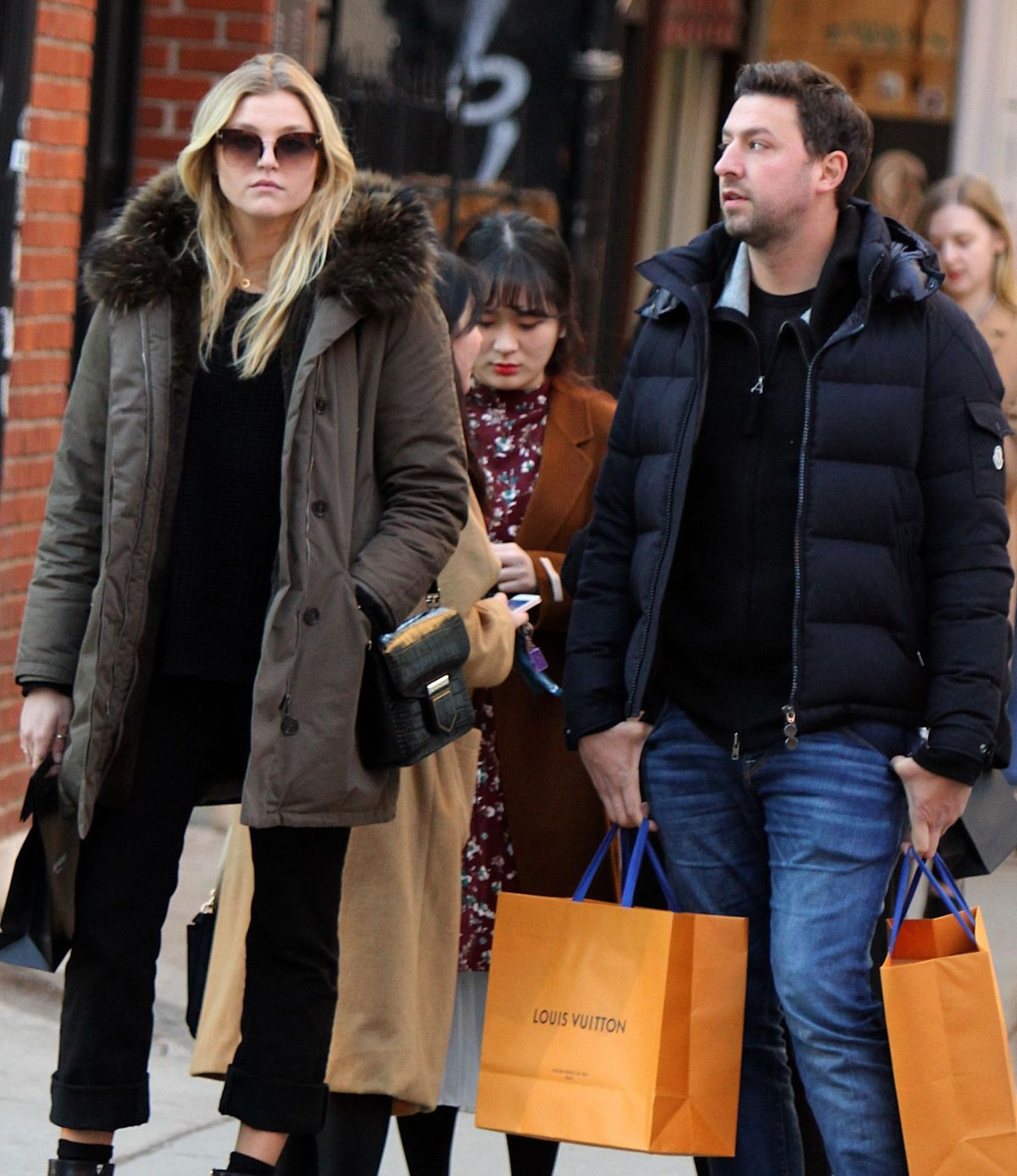 RACHEL HILBERT and Brett Eldredge Out in New York 02/14/2017