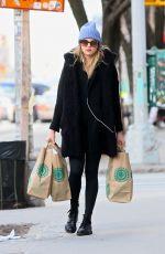 RACHEL HILBERT Out Shopping in New York 02/01/2017