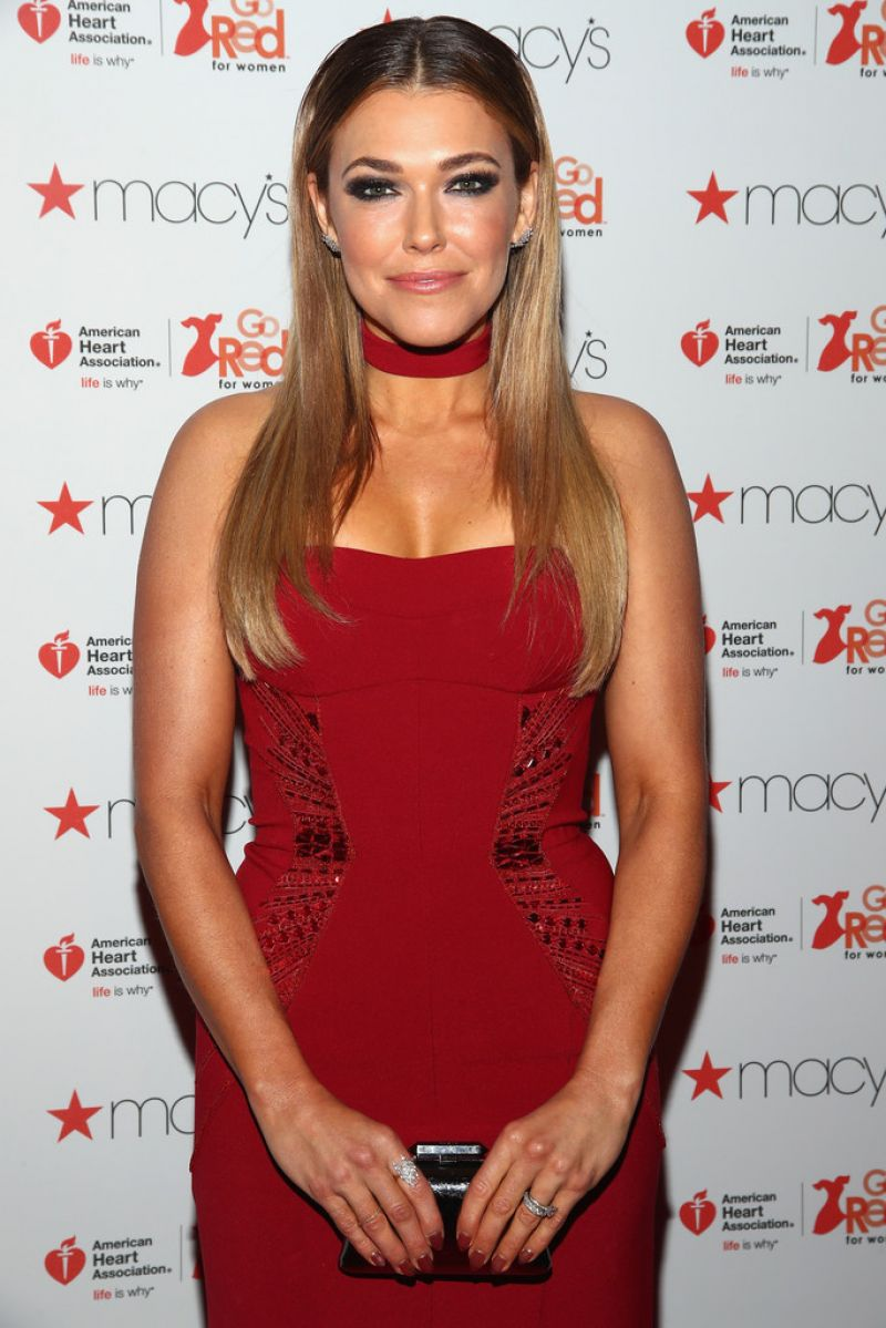 RACHEL PLATTEN at American Heart Association's Go Red for Women Red Dress Collection 2017 in New York 02/09/2017