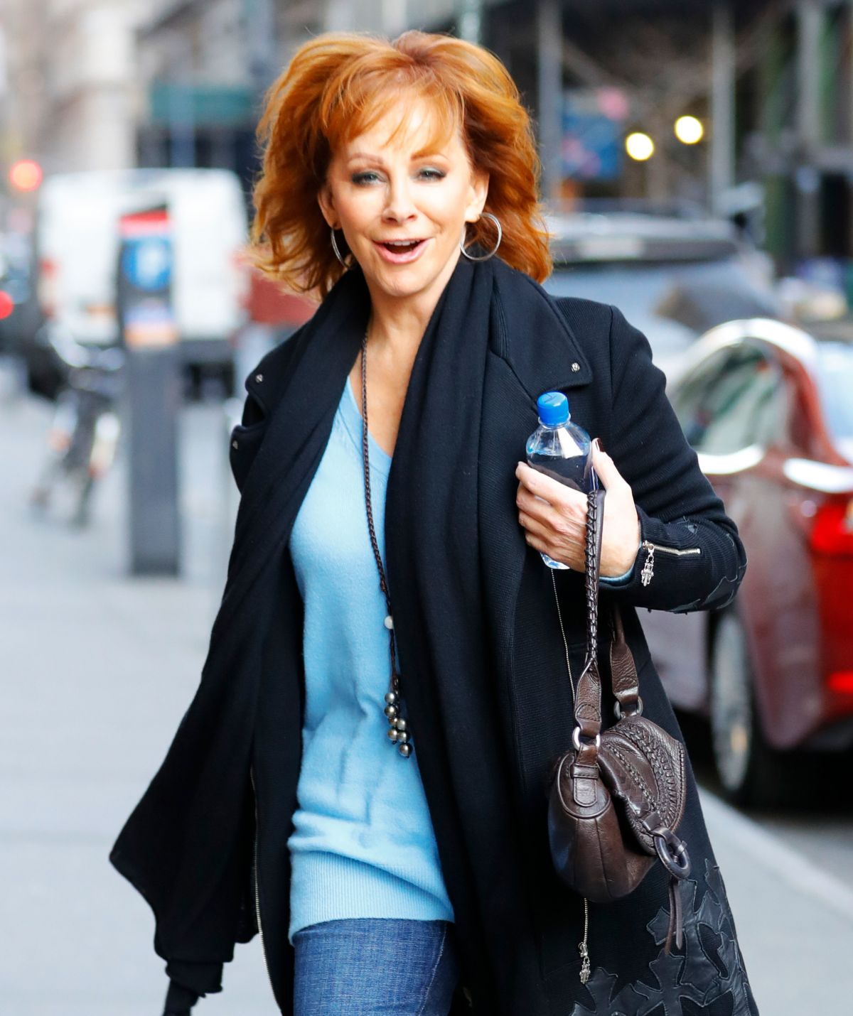 REBA MCENTIRE Out in New York 02/06/2017