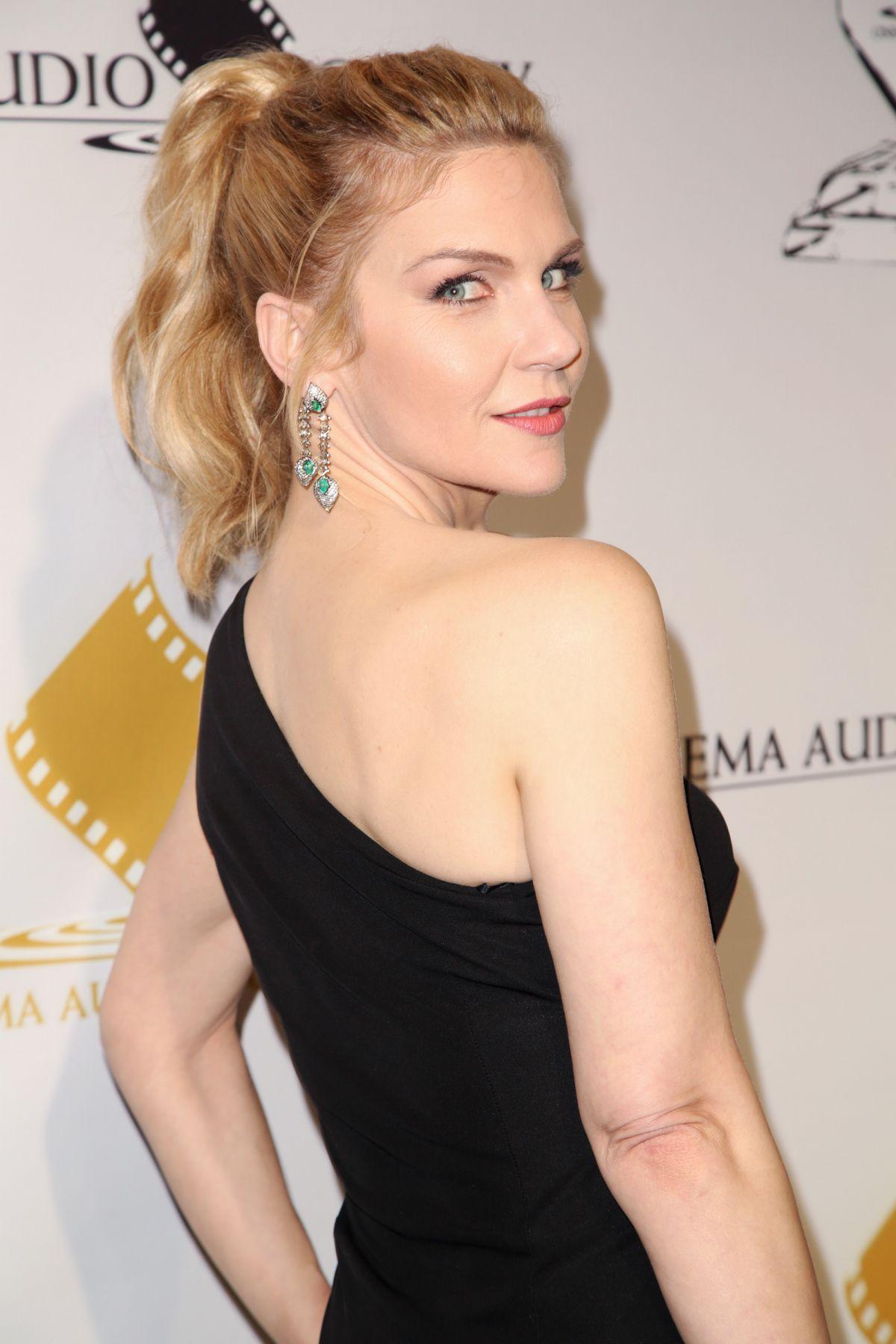 RHEA SEEHORN at Cinema Audio Society Awards in Los Angeles 02/19/2017