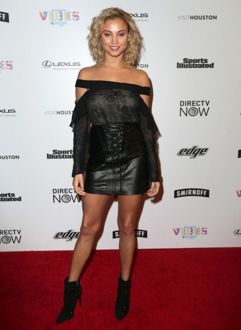 ROSE BERTRAM at Vibes by SI Swimsuit 2017 Launch Festival in Houston 02/17/2017