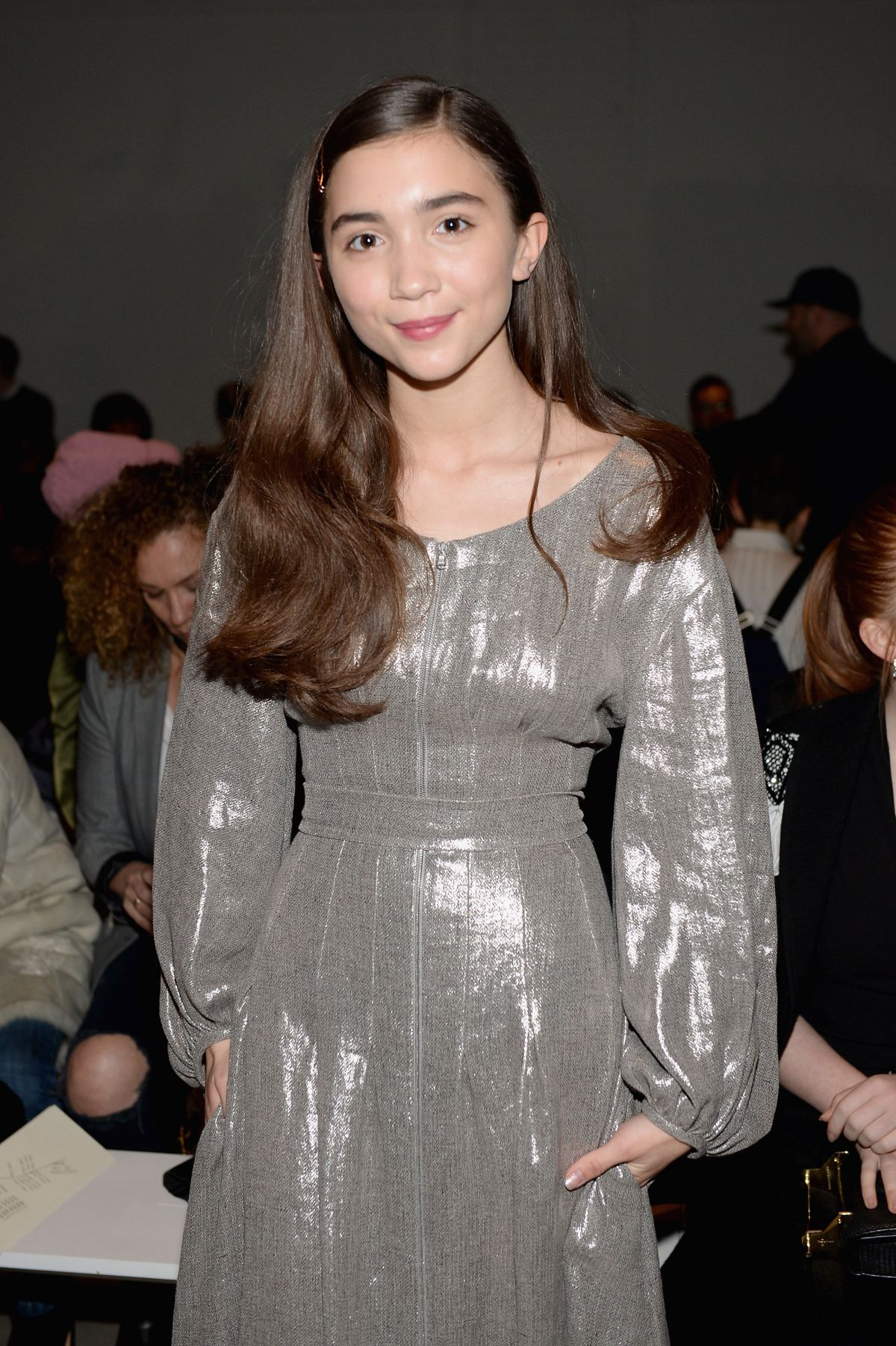 ROWAN BLANCHARD at Creatures of the Wind Fashion Show in New York 02/11/2017
