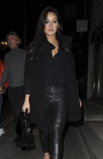 ROXIE NAFOUSI Night Out in London 02/19/2017