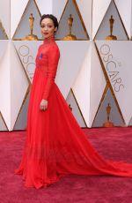 RUTH NEGGA  at 89th Annual Academy Awards in Hollywood 02/26/2017