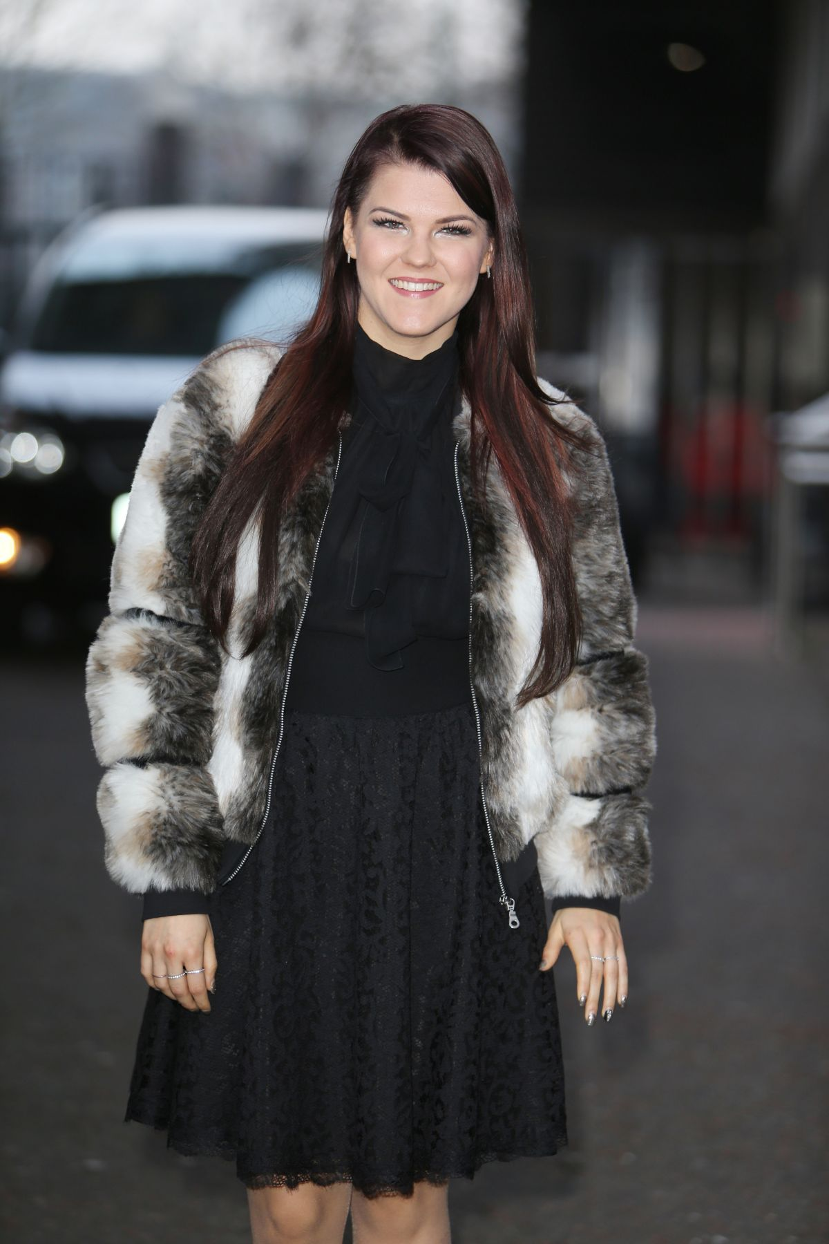 SAARA AALTO at ITV Studios in London 02/15/2017