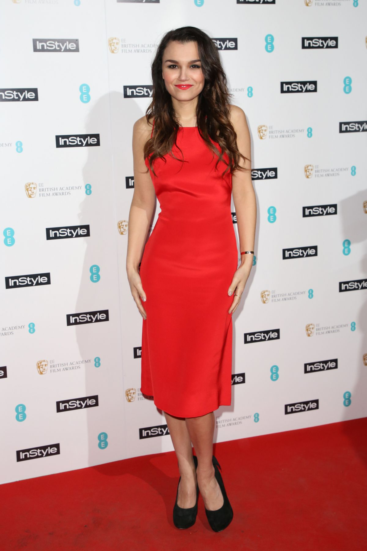 SAMANTHA BARKS at Instyle EE Rising Star Party in London ...