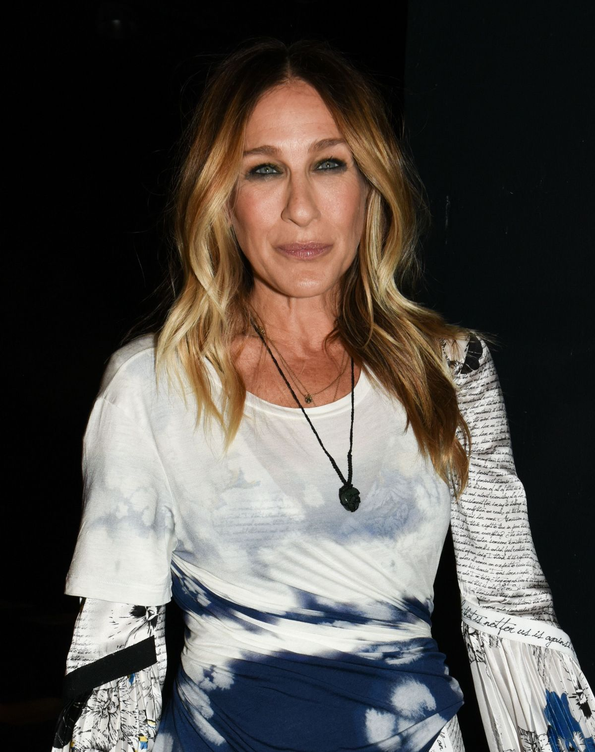 SARAH JESSICA PARKER at Prabal Gurung Fashion Show at New ...