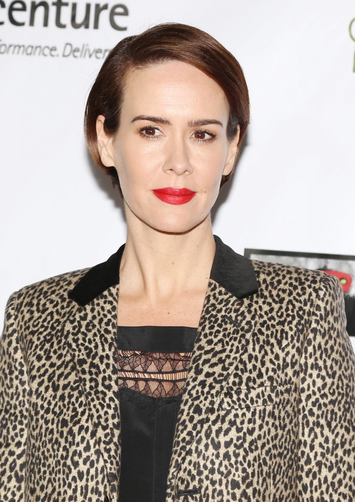 SARAH PAULSON at 12th Annual Oscar Wilde Awards in Santa ...