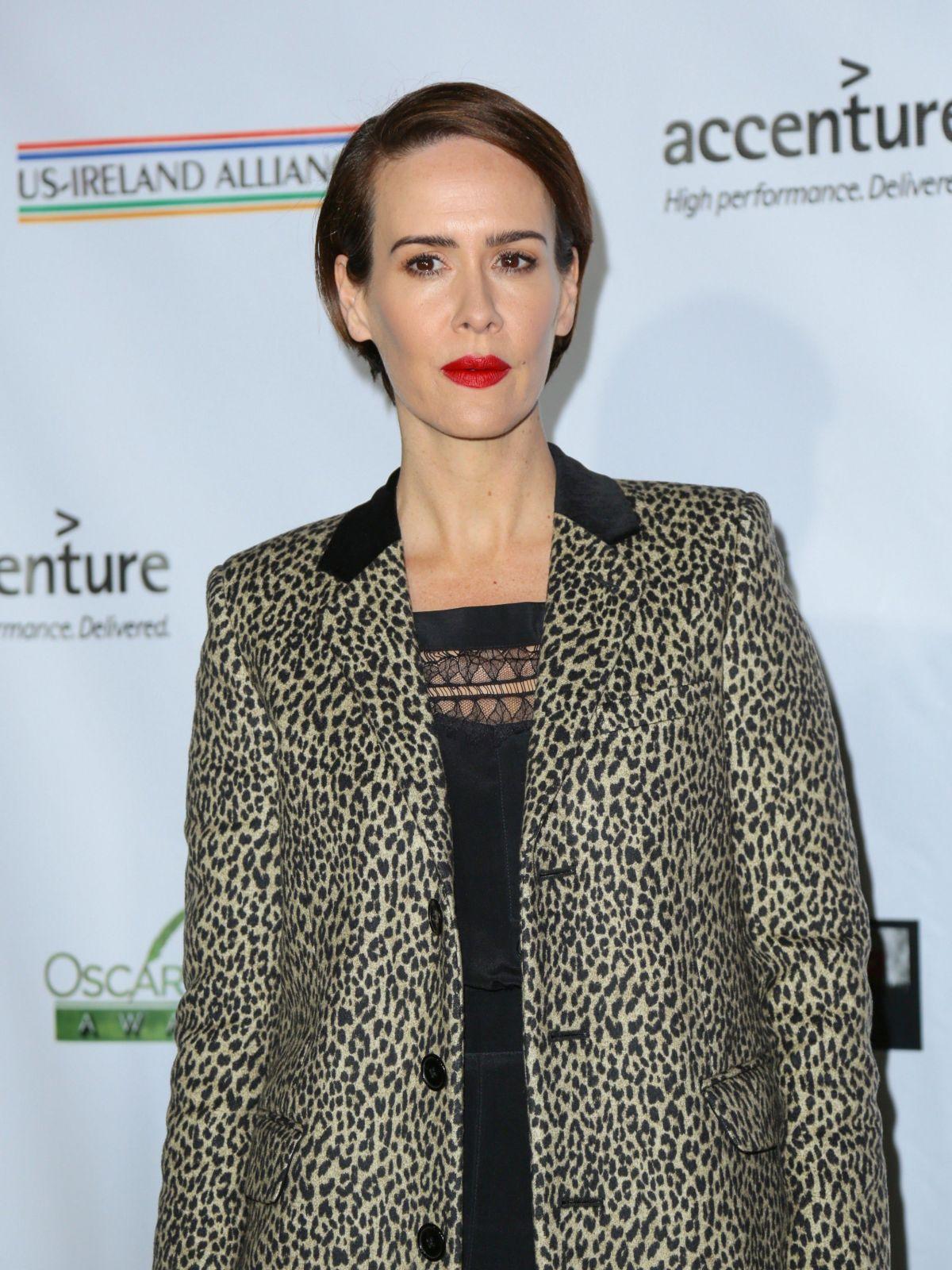 SARAH PAULSON at 12th Annual Oscar Wilde Awards in Santa ...