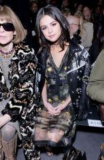 SELENA GOMEZ at Coach Fashion Show at New York Fashion Week 02/14/2017