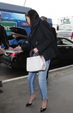 SELENA GOMEZ at LAX Airport in Los Angeles 02/07/2017