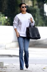 SELENA GOMEZ in Jeans Out in Torrance 02/10/2017